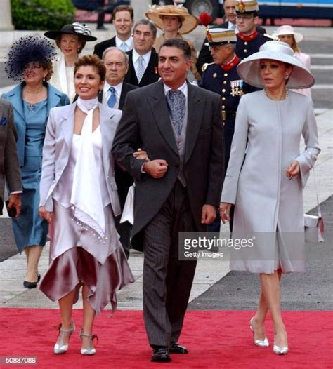 Farah Pahlavi, wife of the late Shah of Iran, arrives with